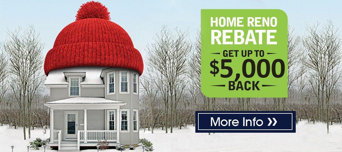 Home Reno Rebate Program