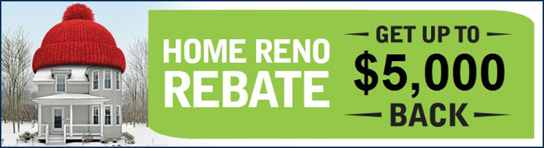 Home Reno Rebate Windsor Leamington